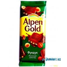 Молочный шоколад Alpen Gold «Фундук»