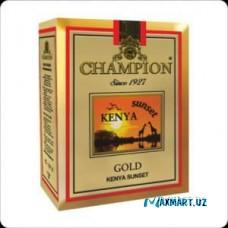 Чай черный Champion Kenya Sunset 100гр в подарок ложка