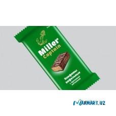 Конфеты вафельные Miller Captain с ореховой начинкой 1кг