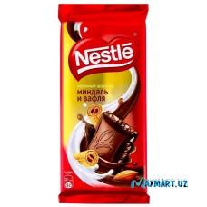 "Молочный шоколад ""Nestle"" Миндаль и Вафля"