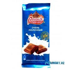"""Шоколад Россия """"Щедрая Душа"""" Очень молочный"""