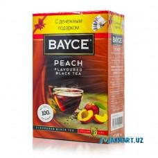 """Чай черный """"BAYCE"""" 100гр персик"""