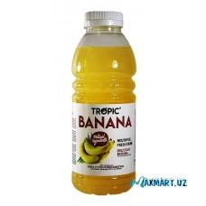 """Безалкогольный, Негазированный напиток """"Tropic"""" BANANA 0,5л."""