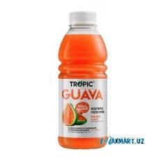 """Безалкогольный, Негазированный напиток """"Tropic"""" Guava 1л."""