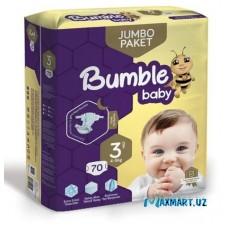 """Подгузники """"Bumble"""" 3-70шт"""