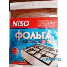 """Фольга для газ плиты """"Niso"""" 50x60см"""