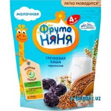 """Каша молочная """"Фруто НЯНЯ"""" Гречневая с черносливом."""