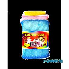 """Губки для мытья посуды """"Super Lux"""" мягкие - 3шт."""
