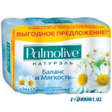 """Мыло """"Palmolive"""" Баланс и Мягкость ромашка 70 гр (4+1)"""