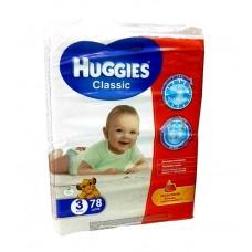 """Подгузники """"Huggies Classic"""" 3-78шт"""