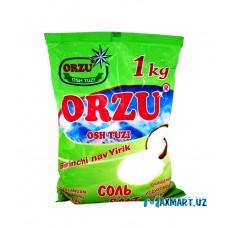 """Соль """"ORZU"""" 1 кг"""